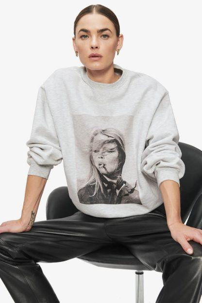 anine bing - ramona sweatshirt brigitte bardot - hesmé