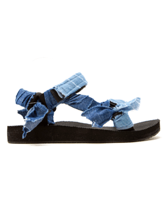 sandales trekky denim - arizona love - hesmé