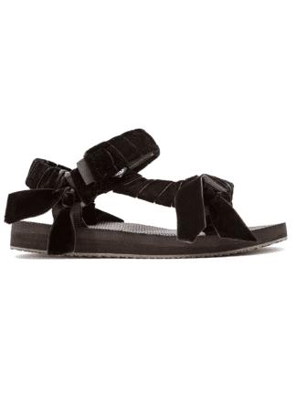 sandales trekky velvet black - arizona love - hesmé