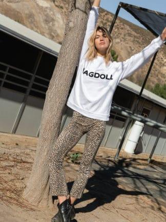 legging crop léopard - ragdoll la - hesmé