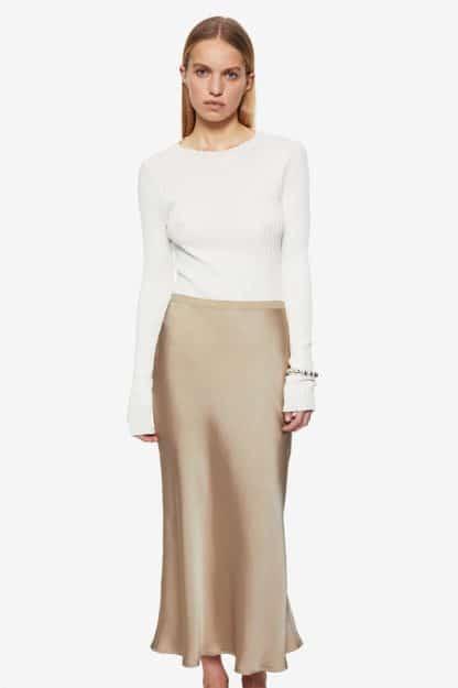 jupe bar silk- Anine Bing- hesmé