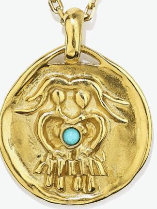 collier mini Astro gémeaux- goossens- hesmé