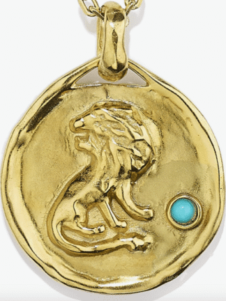 collier mini astro lion- goossens- hesmé