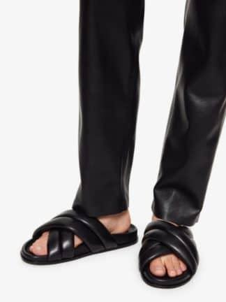 sandales lizzie slides - anine bing - hesmé