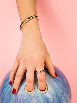 bracelet corne or- Magali Pont- hesmé