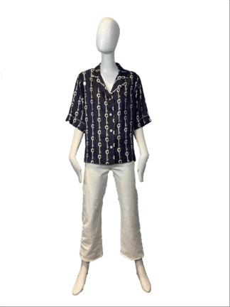 chemise Hawaii- prestic ouiston- hesmé