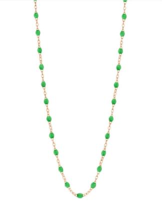 collier perle résine long- Gigi Clozeau- hesmé