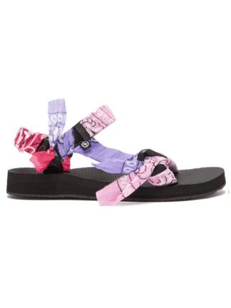 sandales trekky mix bandana rose - arizona love - hesmé