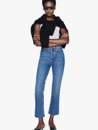 lara jean mid indigo - anine bing - hesmé