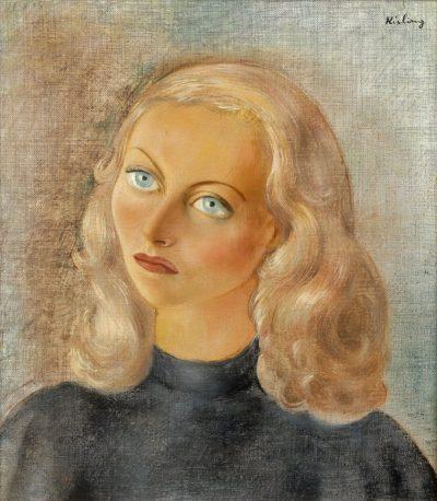 Michèle Morgan par Moïse Kisling