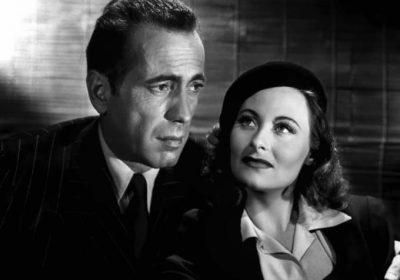 Michèle Morgan et Humphrey Bogart